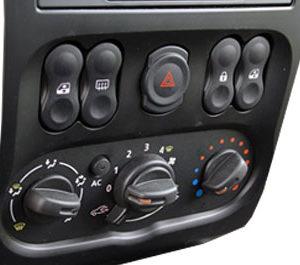 Панель управления Nissan (система отопления)